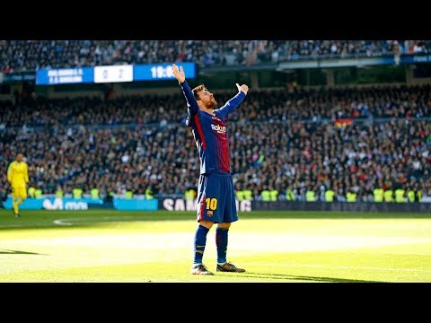 Lionel Messi Bossing At The Santiago Bernabeu ► Destroying Real Madrid At Their Own Home