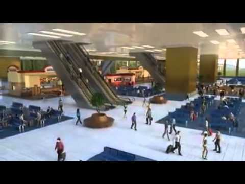 FUTURE INTERESTING AIR TRAIN STATION 2020 at New Delhi Dream project INDIA