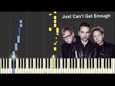 Just Can't Get Enough - Depeche Mode - Piano Tutorial
