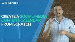 Social Media Strategy: Create a Social Media Content Calendar For 2019 With This Template