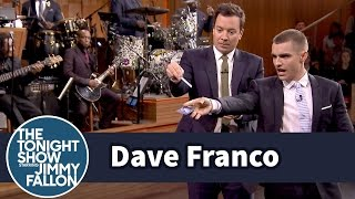 Dave Franco Teaches Jimmy Card Throwing
