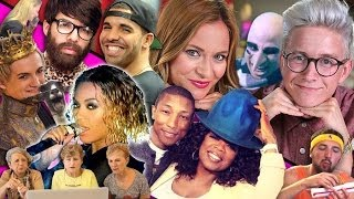 Top That! | Purple Wedding, Pharrell Cries With Oprah and More! | Pop Culture News