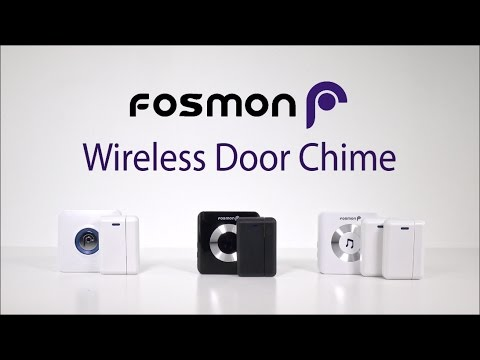 How To Set Up Fosmon Wavelink Wireless Door Chime At Home Or