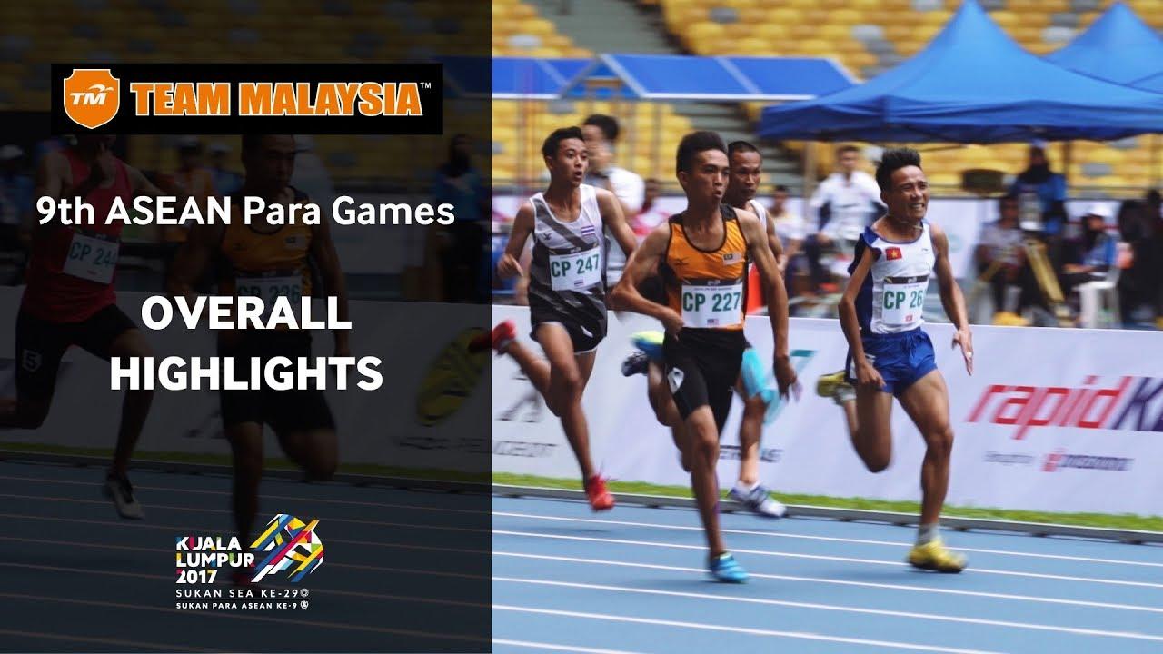 Team Malaysia presents The 9th ASEAN Para Games Highlights
