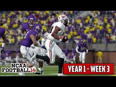 NCAA Football 14 Teambuilder Dynasty Season 1 - Week 3 @ East Carolina [EP5]