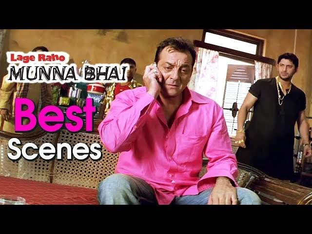 Best Movie Scenes From Lage Raho Munna Bhai | Arshad Warsi, Sanjay Dutt, Vidya Balan