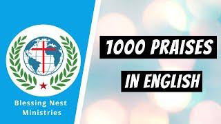 1000 Praises English