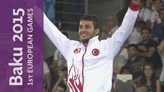 Burak Uygur wins the Gold Medal for Turkey | Karate | Baku 2015 European Games