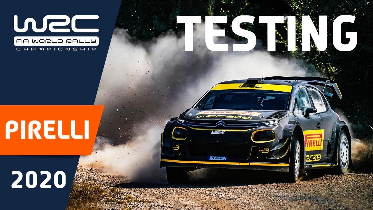 WRC 2020: Mikkelsen testing for PIRELLI