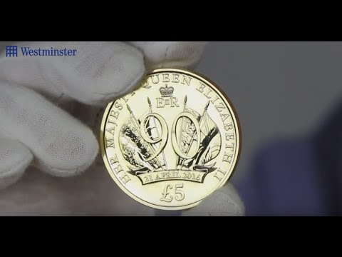 New Queen Elizabeth II Coin £5 For £5