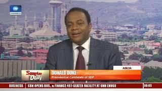 SDP Crisis: Donald Duke Hails Appeal Court Judgment, Says It Is 'Interpretation Of Law' Pt.1