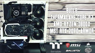 [Cowcot TV] BUILD : THERMALTAKE CORE P3/RYZEN 7 3800X/RTX 2070
