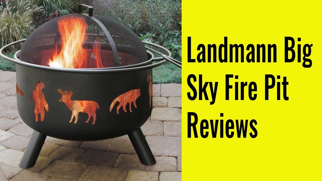 Landmann Big Sky Fire Pit Reviews Thereviewio Youtube