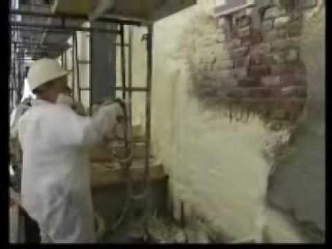 Exterior Spray Foam Insulation Stucco Youtube