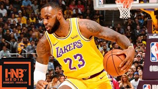Los Angeles Lakers vs Houston Rockets Full Game Highlights | 10.20.2018, NBA Season