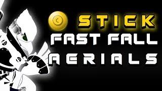 NEW TECH! C Stick Fast Fall Aerials | Meta Of Smash Trixx