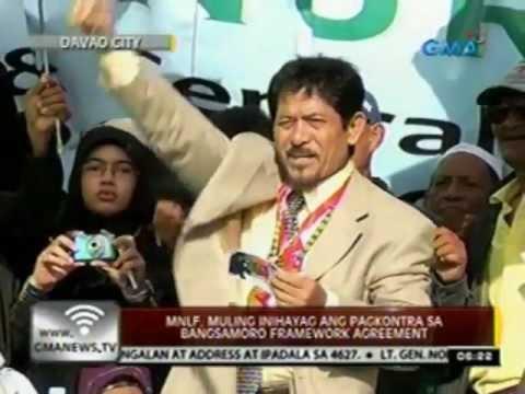 24 Oras: MNLF, muling inihayag ang pagkontra sa Bangsamoro Framework Agreement
