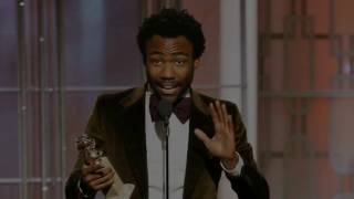 """Childish Gambino"" Wins Golden Globe Awards For ""Atlanta"". Why He Thanks The MIGOS"