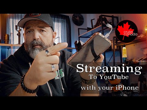 How To Live Stream On YouTube With Your Android / IPhone In 2020