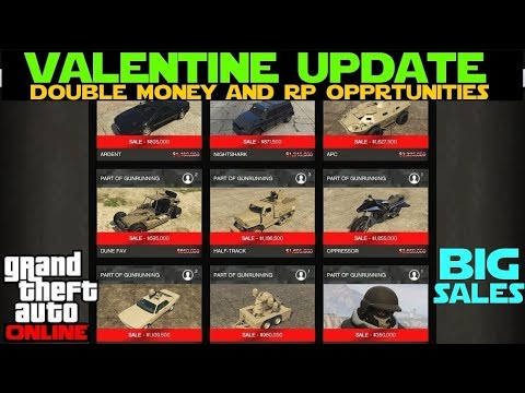 GTA 5 Online | Valentine Update and Double Money and RP Opportunities thumbnail
