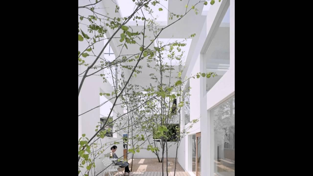 Moderne Japanische Garten Verschwimmen Die Grenzen Zwischen Innen Und Außen