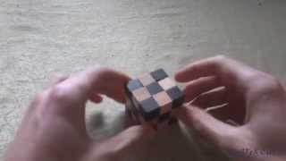 Collect Wooden Cube, Different Options Puzzle 1 / деревянный кубик головоломка