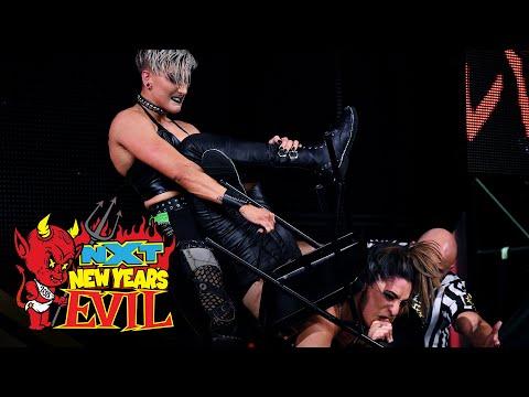 Rhea Ripley vs. Raquel González – Last Woman Standing Match: NXT New Year's Evil, Jan. 6, 2021