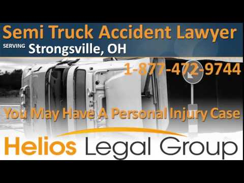 Strongsville Semi Truck Accident Lawyer & Attorney - Ohio