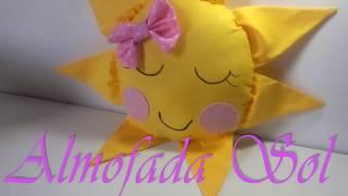 Almofada Sol Infantil