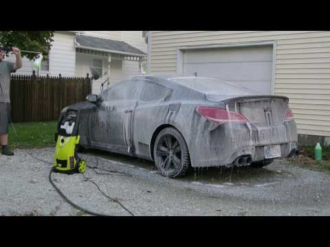 Chemical Guys Foam Cannon ft. Genesis Coupe 1