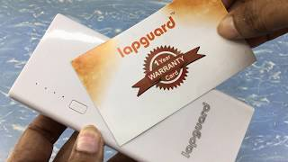 Lapguard 10400 mah powerbank unboxing & first view