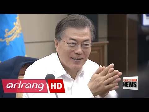 South Korean president discusses key policy implementation process, first finance strategy council