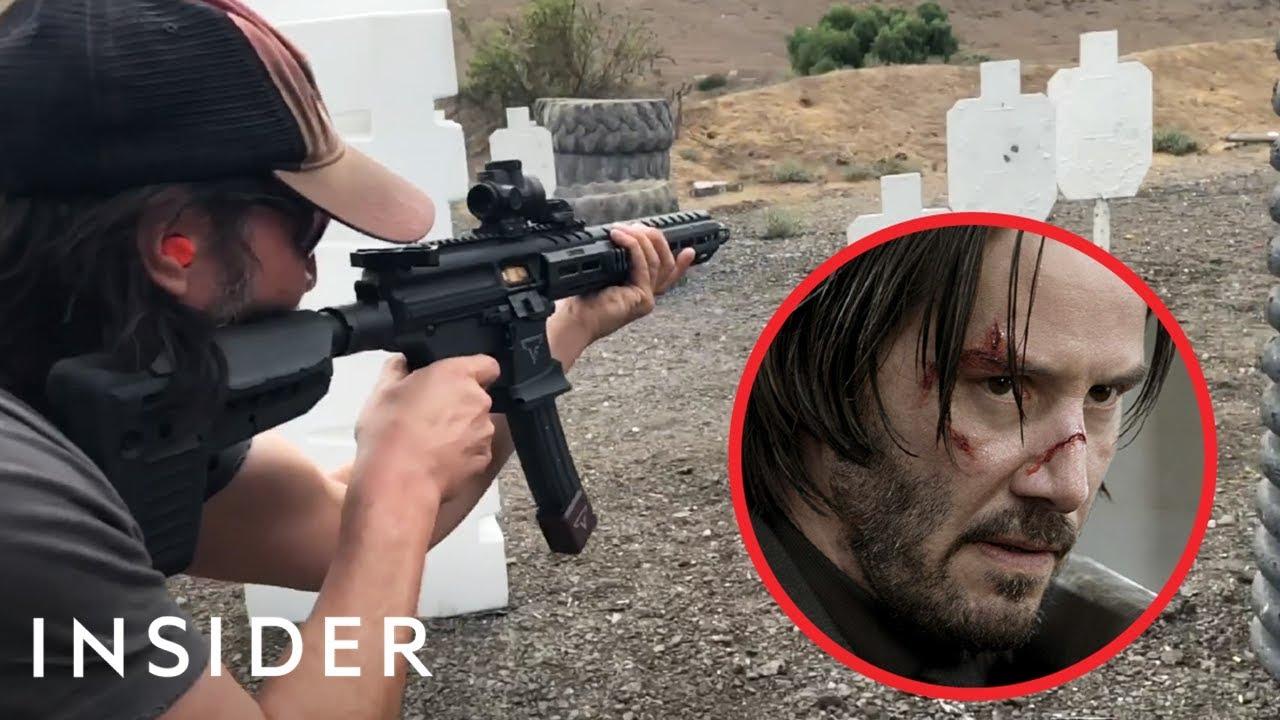 Како Кијану Ривс научил да пука со оружје за улогата во John Wick?