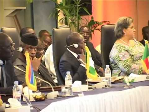 VP Osibanjo At Dakar ECOWAS Summit