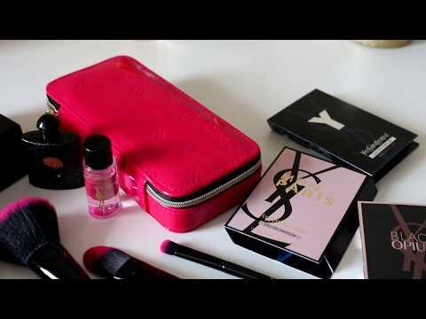 Шикарная посылка Yves Saint Laurent ♥ Парфюм, кисти для макияжа, косметика