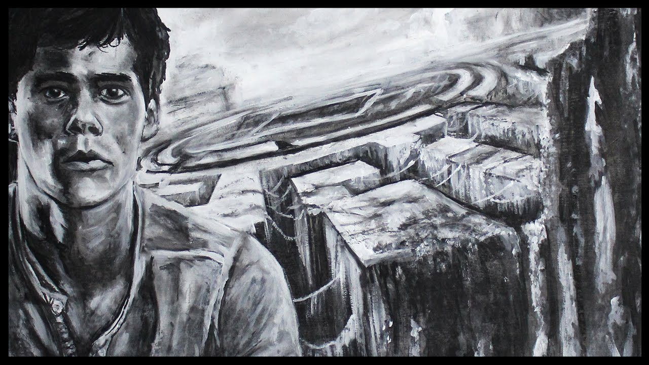 MAZE RUNNER - Drawing I 20th Century Fox inkl. Trailer