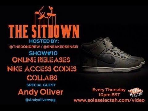 Sneaker Mafia Sitdown #10