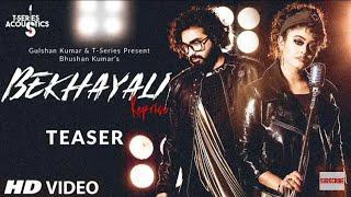 Bekhayali Reprise Teaser T Series Acoustic Sachet Tandon