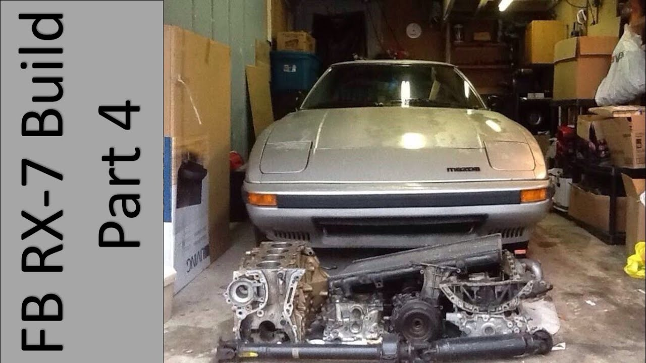 FB RX-7 Build Part 4- Parts and Supplies for the SR20 RX7