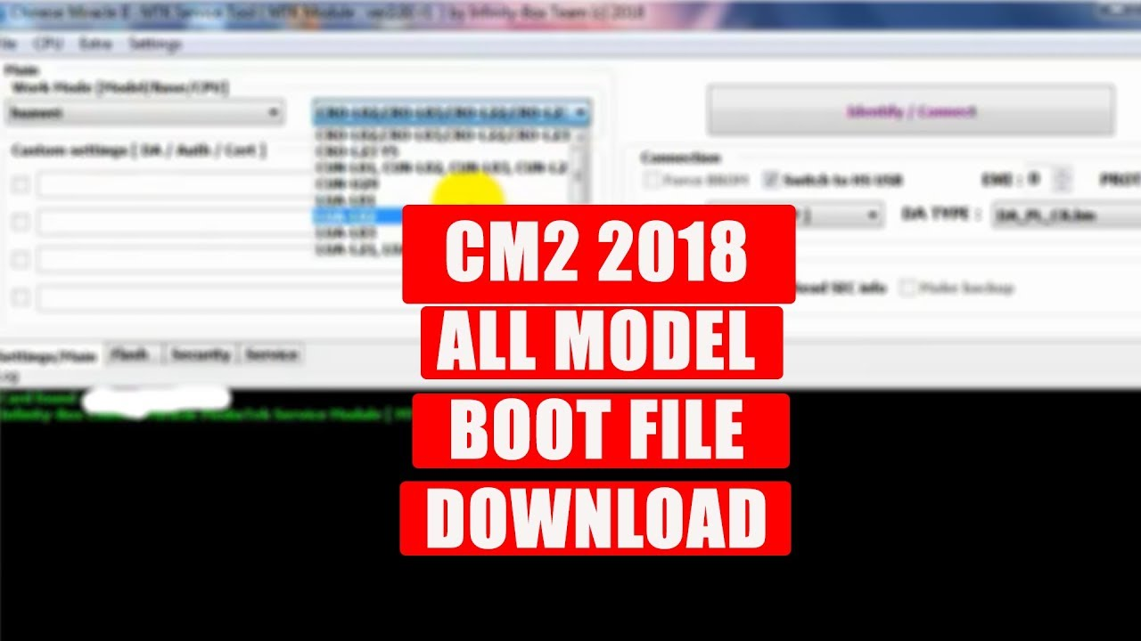 CM2 CM2MT2 2018 ALL MODEL BOOT FILE FREE DOWNLOAD