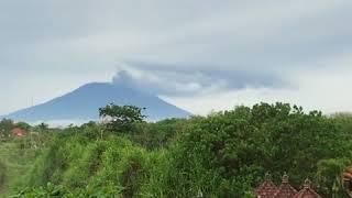Mount Agung Erupts on Bali