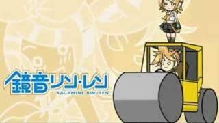 【鏡音リン】 俺のロードローラーだッ! 【鏡音レン】 thumbnail