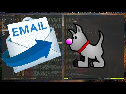 Email on the terminal with mutt thumbnail