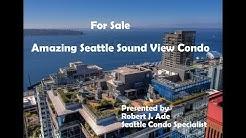 FOR SALE!  Amazing Seattle Sound View Condo at The Cristalla