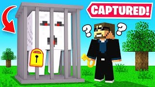 TRAPPING *GHASTS* in the OVERWORLD (Minecraft)