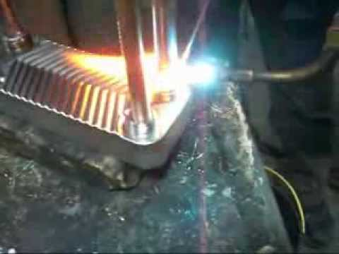 Brazing of flat plate heat exchanger