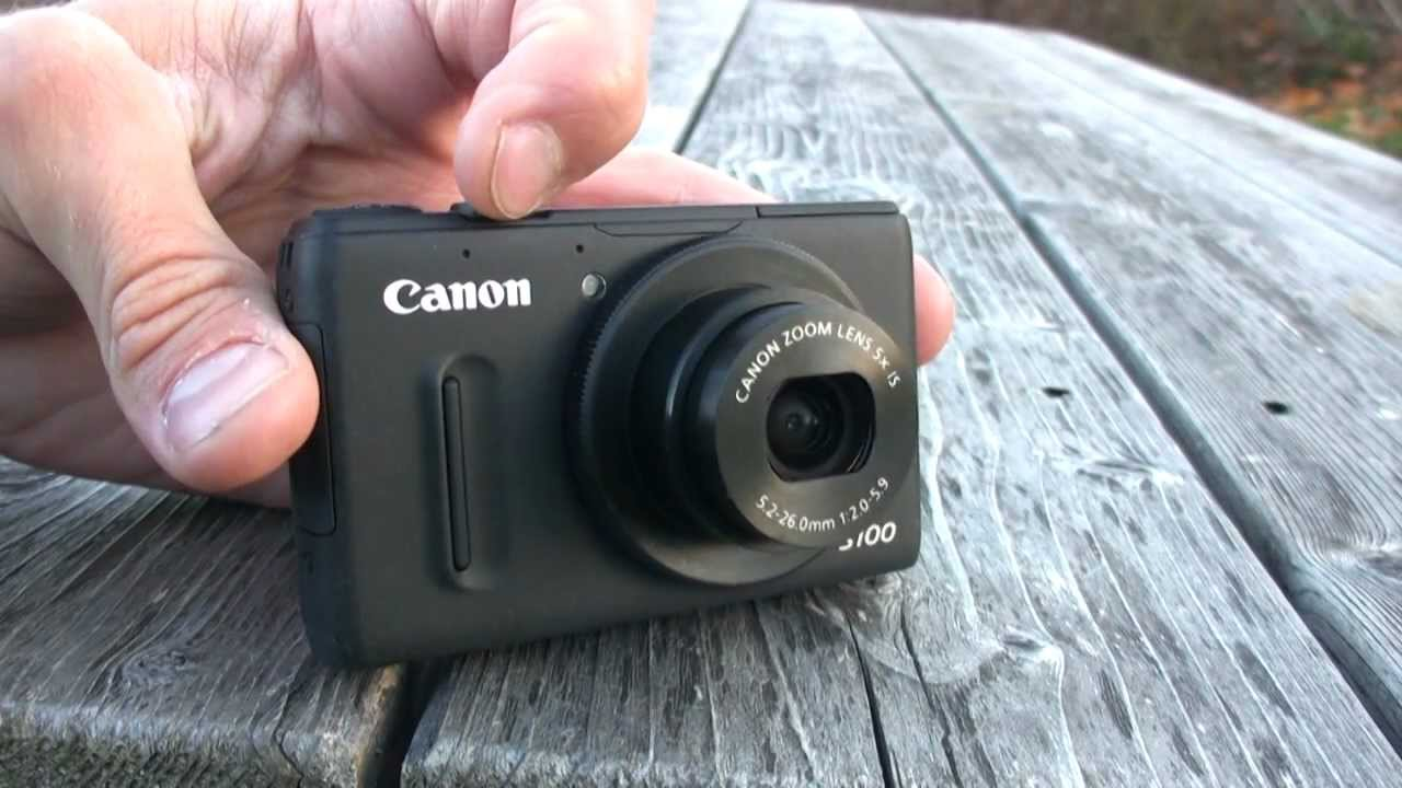 Canon PowerShot S100 Review - The Best Compact Camera - YouTube