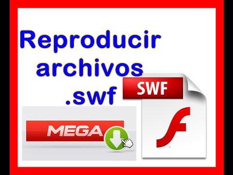 Reproducir archivos  swf flash programa descargar full mega