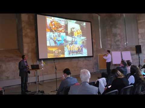 Kryvyi Rih Industrial Tourism Presentation at ERIH Conference 2017