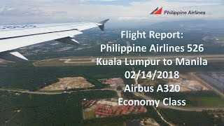 Trip Report KUL-MNL: Philippine Airlines PR 526 in Economy